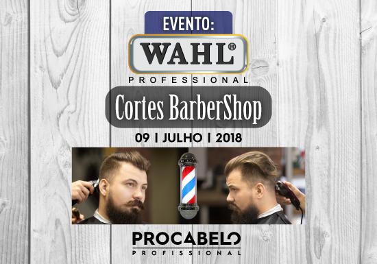 Evento WAHL BRAGA 2018 Procabelo Profissional